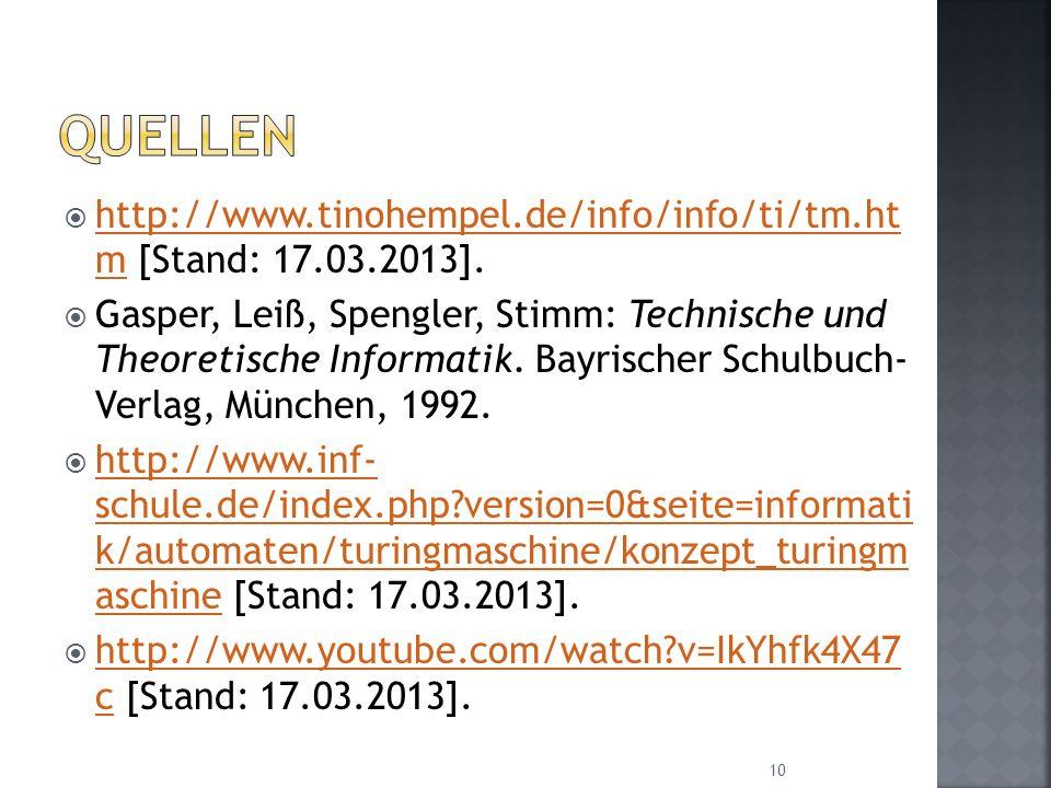 Quellen http://www.tinohempel.de/info/info/ti/tm.ht m [Stand: 17.03.2013].